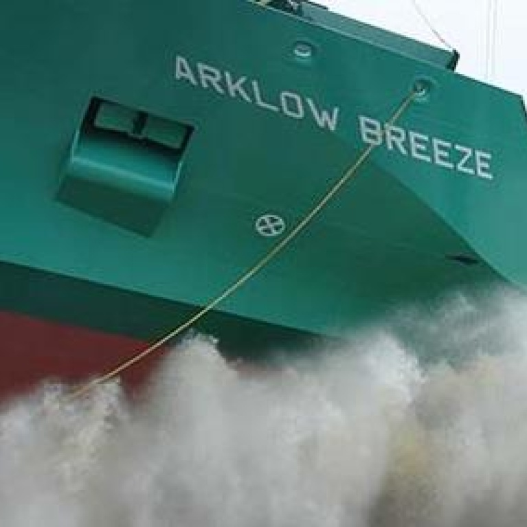 Arklow Breeze NB414 succesfully launched