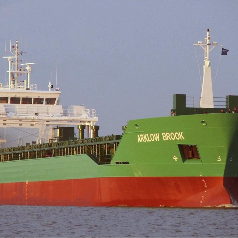 Transshipment Arklow Resolve & Arklow Brook