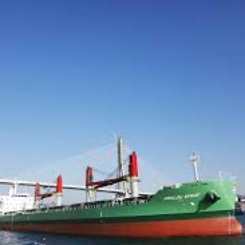 Arklow Spray makes Liverpool first UK port of call on maiden voyage
