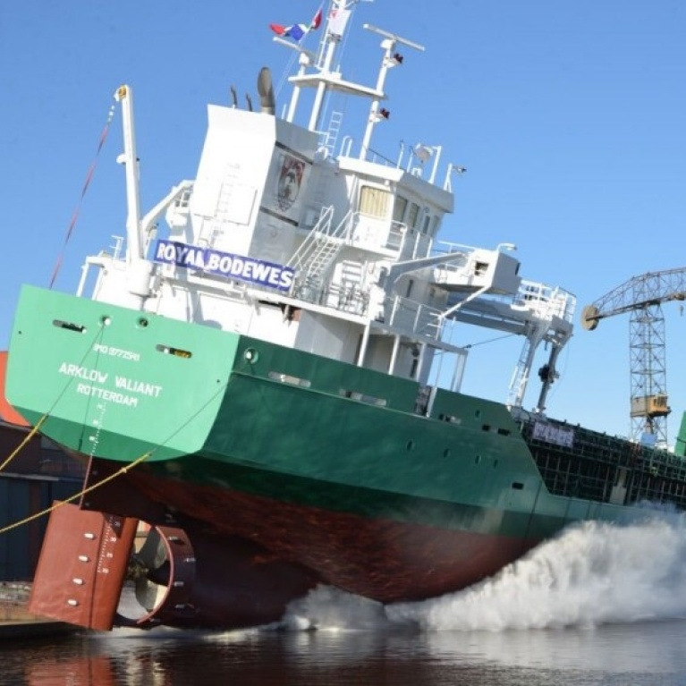 Arklow Valiant successfully launched.